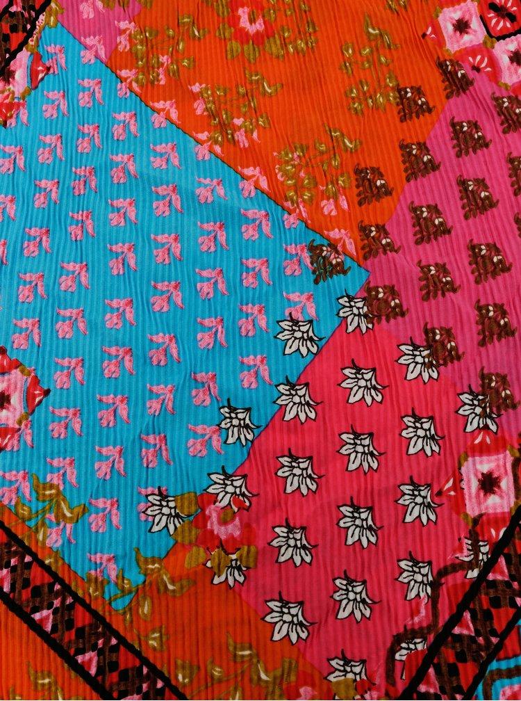 Esarfe, fulare, saluri pentru femei Desigual - roz