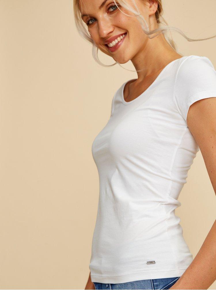 Bílé dámské basic tričko ZOOT Baseline Nora