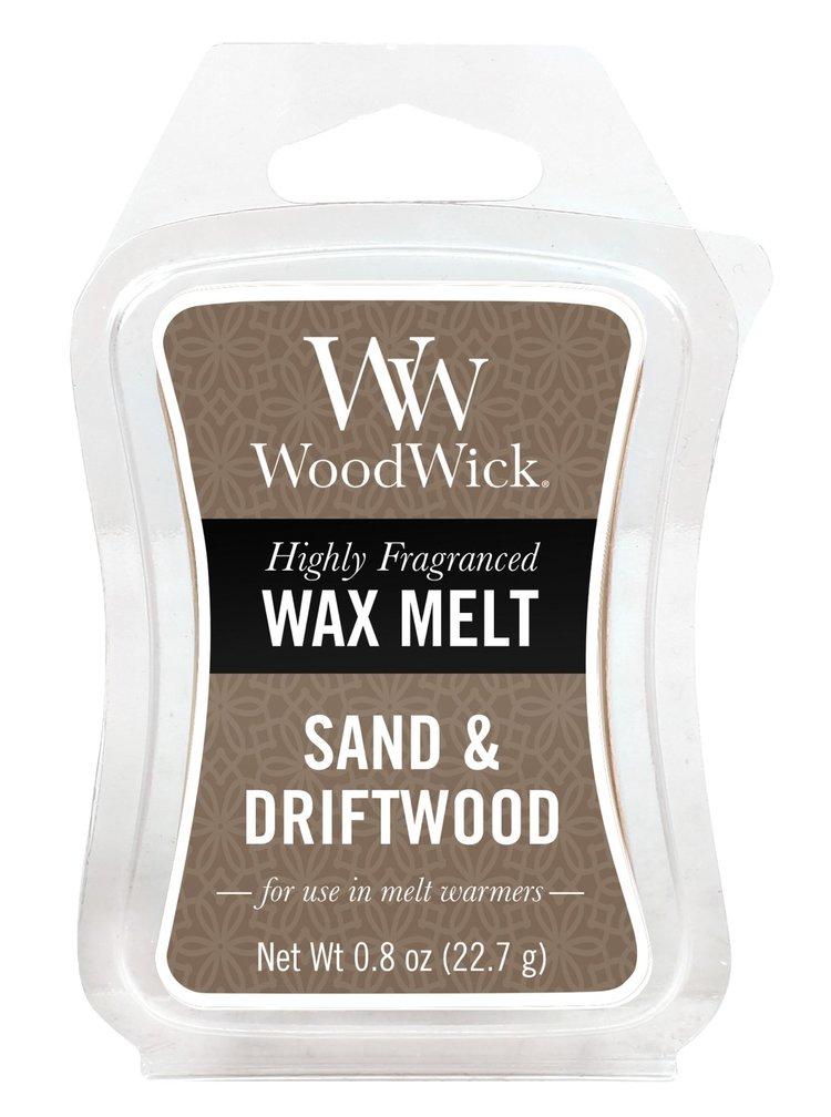 WoodWick vonný vosk do aromalampy Sand&Driftwood