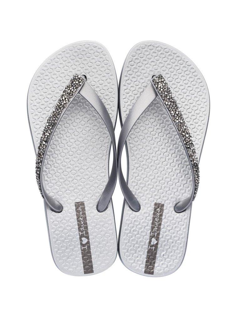 Ipanema stříbrné žabky Glam Special Fem Silver/ Silver