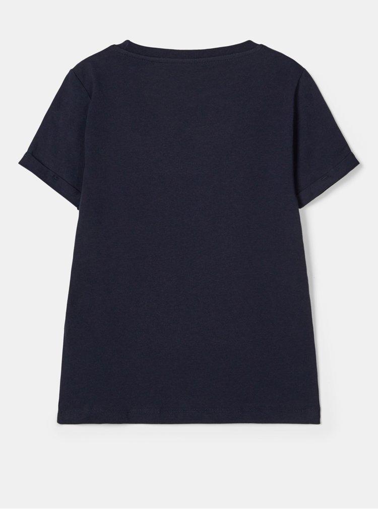 Tmavě modré holčičí tričko name it Minnie