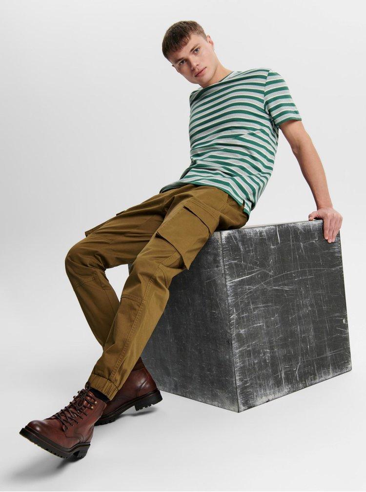 Pantaloni casual pentru barbati ONLY & SONS - maro