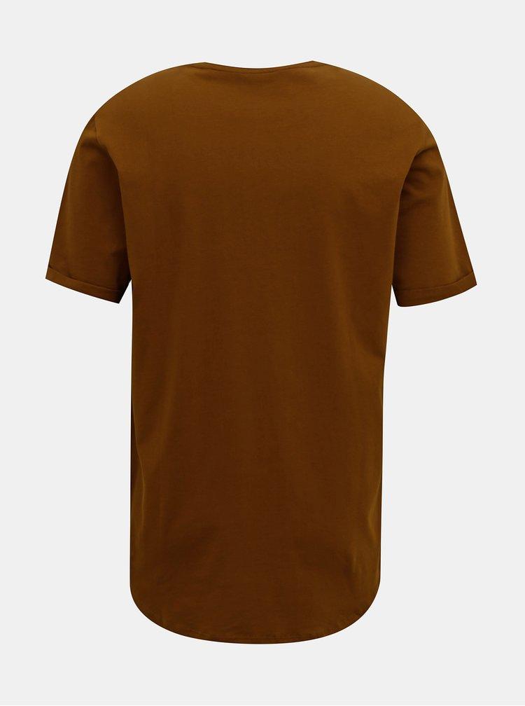 Tricouri pentru barbati ONLY & SONS - maro