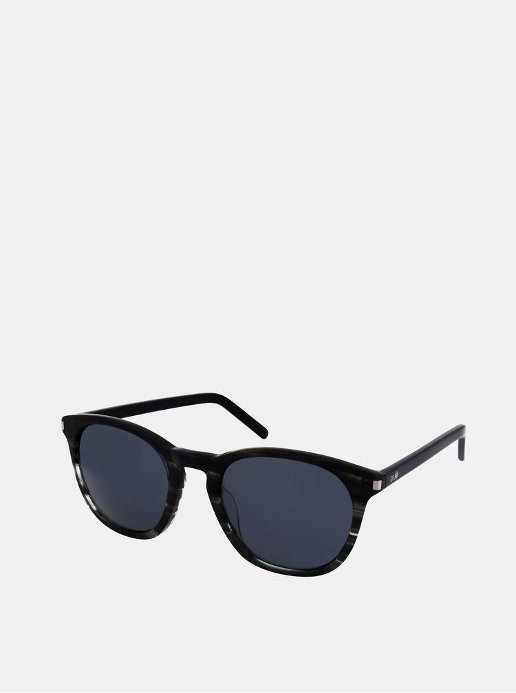 Šedo-černé sluneční brýle Crullé