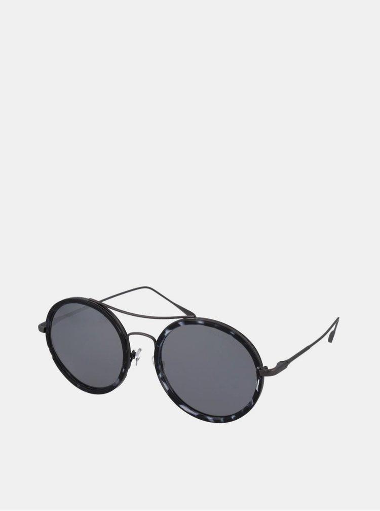 Ochelari de soare pentru barbati Crullé - negru, gri