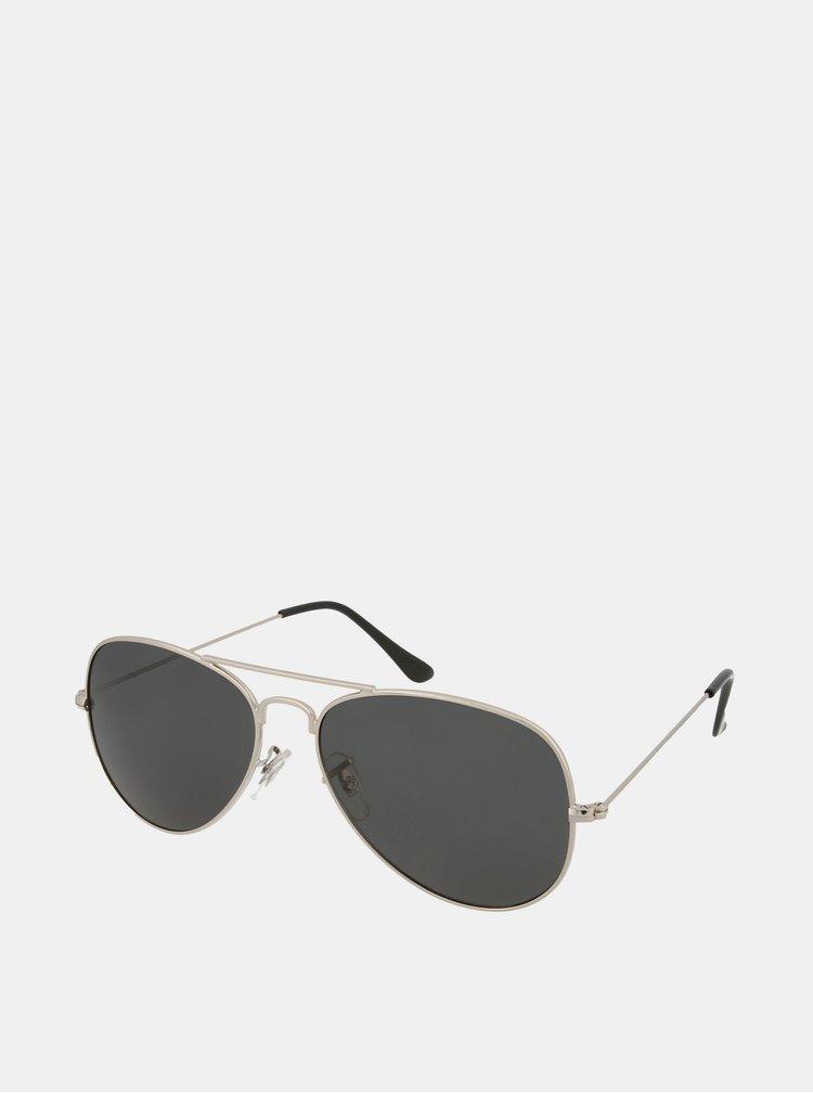 Sluneční brýle ve stříbrné barvě Crullé