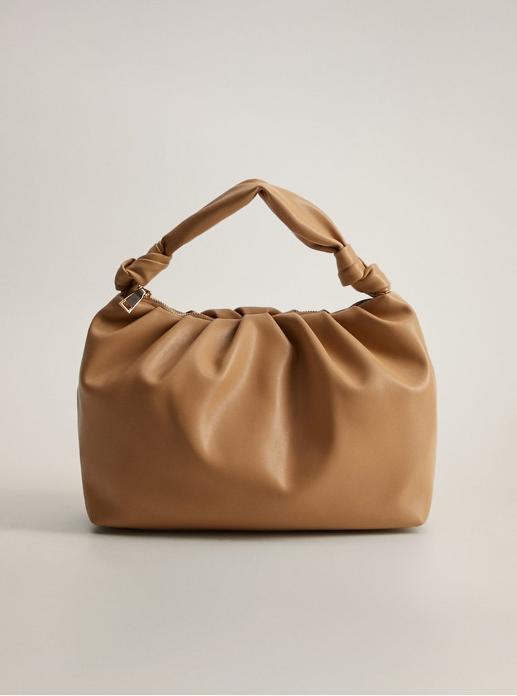 Béžová kabelka Mango