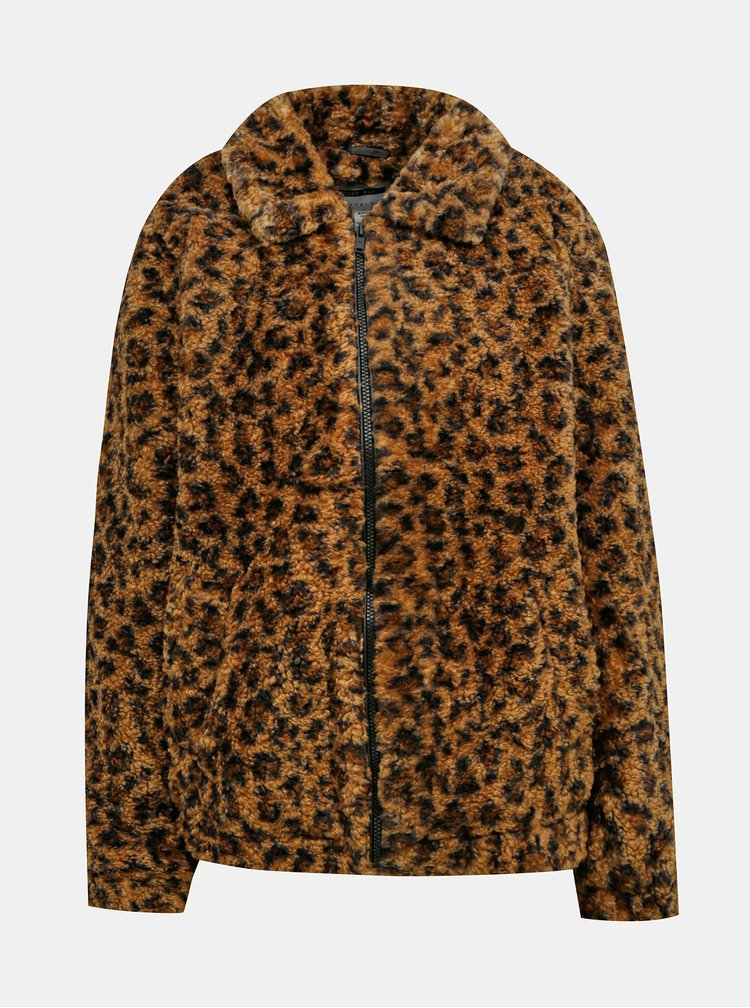 Jachete subtire pentru femei Noisy May - maro
