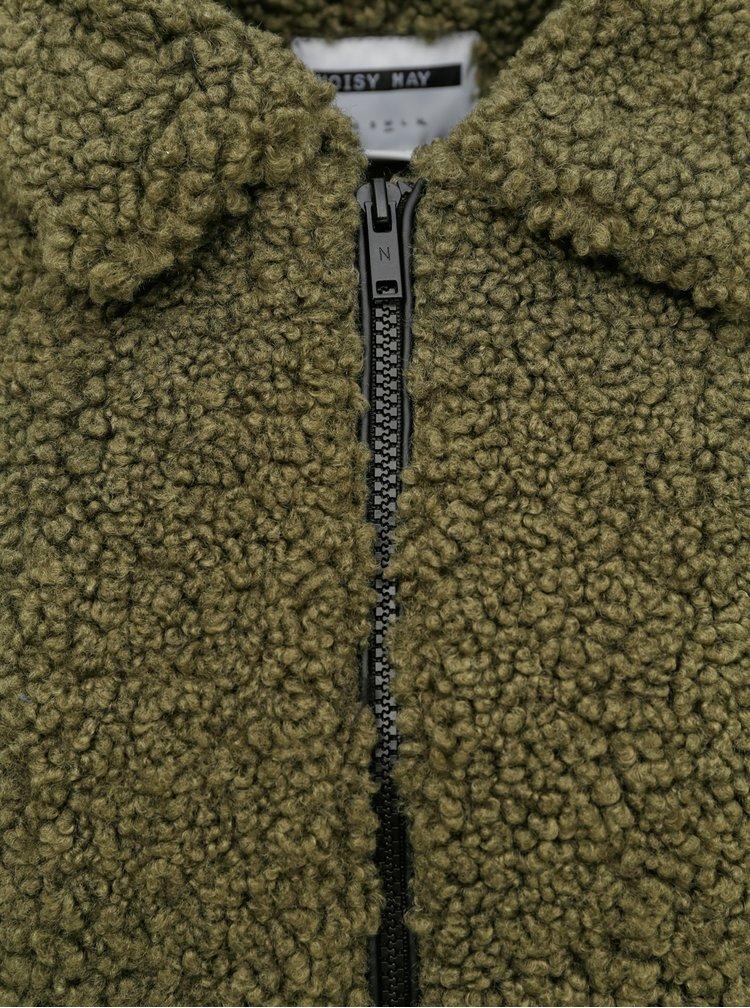 Jachete subtire pentru femei Noisy May - verde