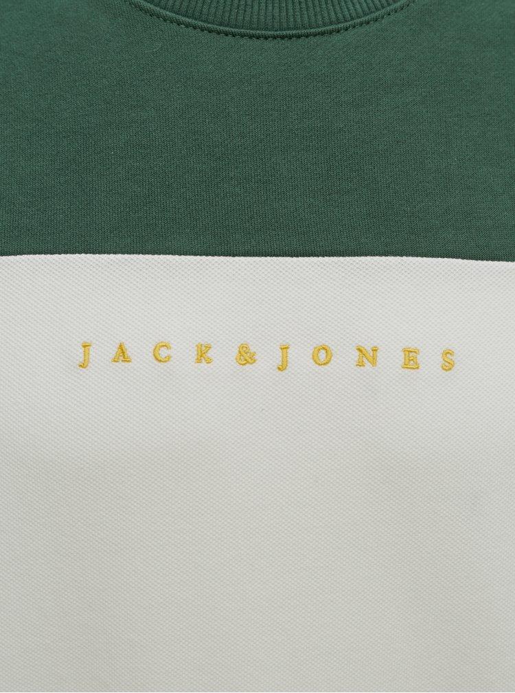 Pulovere fara gluga pentru barbati Jack & Jones - verde, albastru inchis