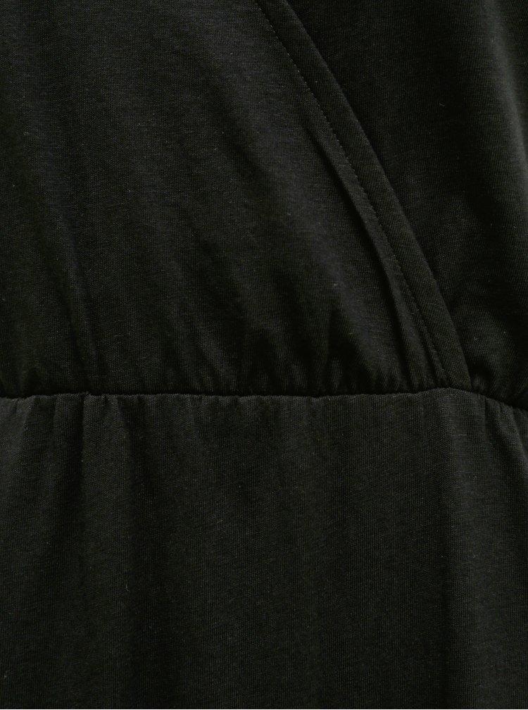 Černé maxišaty Jacqueline de Yong Austin