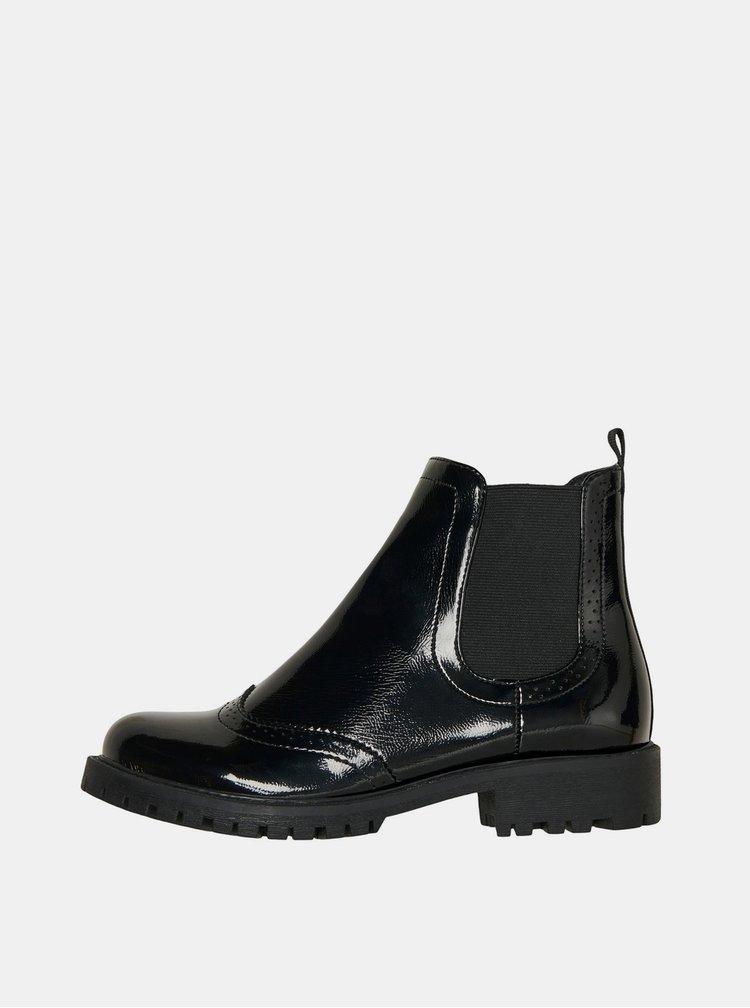 Černé chelsea boty VERO MODA Gloriathea