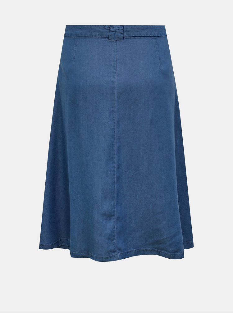 Tmavě modrá džínová sukně ONLY Manhattan