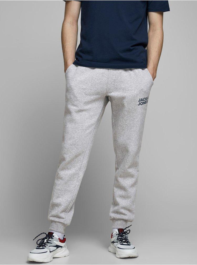 Pantaloni sport si de casa pentru barbati Jack & Jones - gri