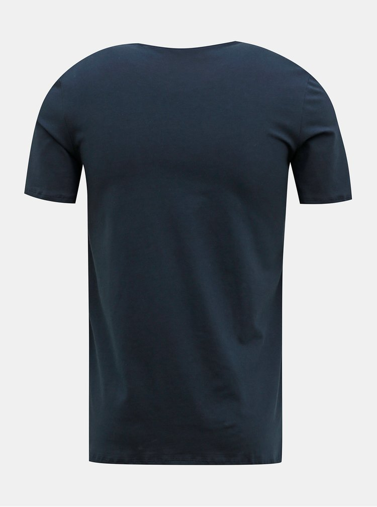 Tricouri basic pentru barbati FILA - albastru inchis