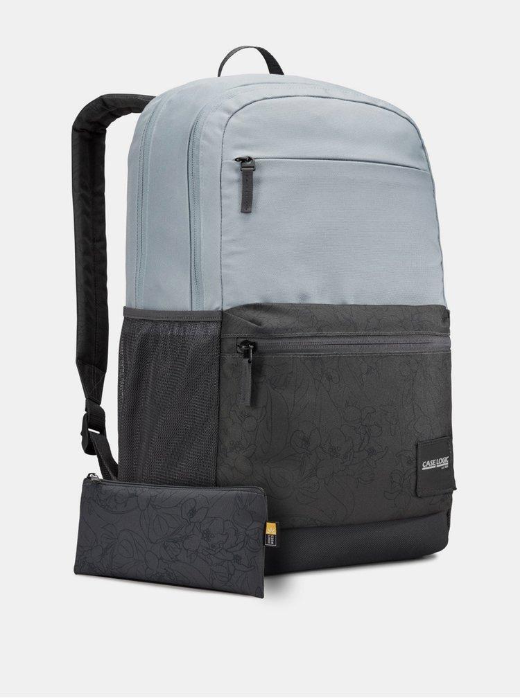 Modro-čierny batoh Case Logic Uplink 26 l