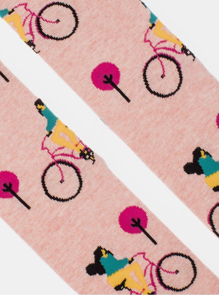 Sosete pentru femei Fusakle - roz