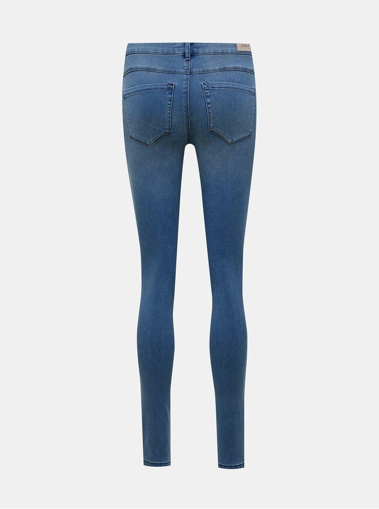 Modré skinny fit džíny ONLY Royal