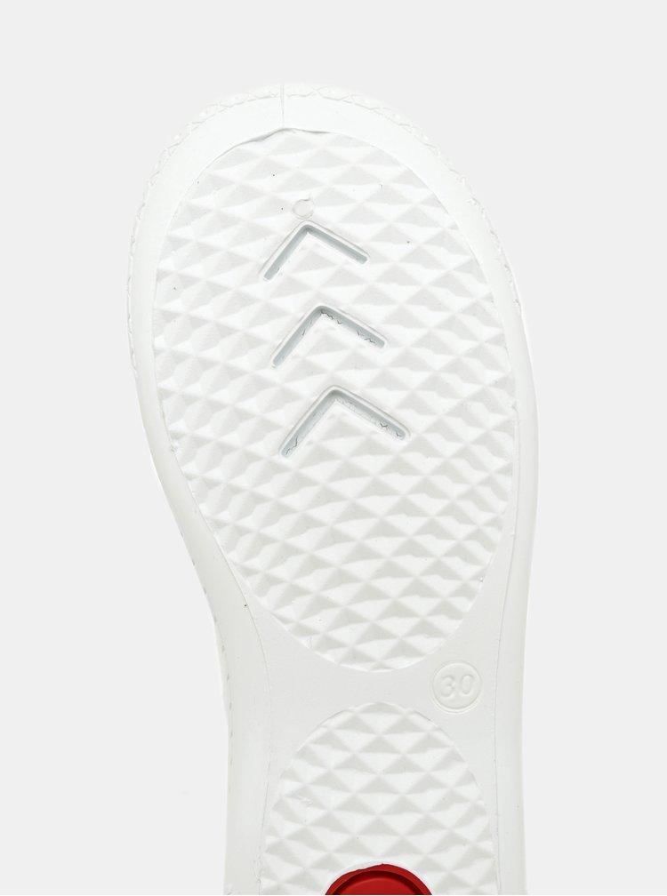 Bílé holčičí třpytivé tenisky 3F