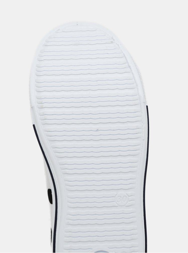 Bílé puntíkované holčičí tenisky 3F