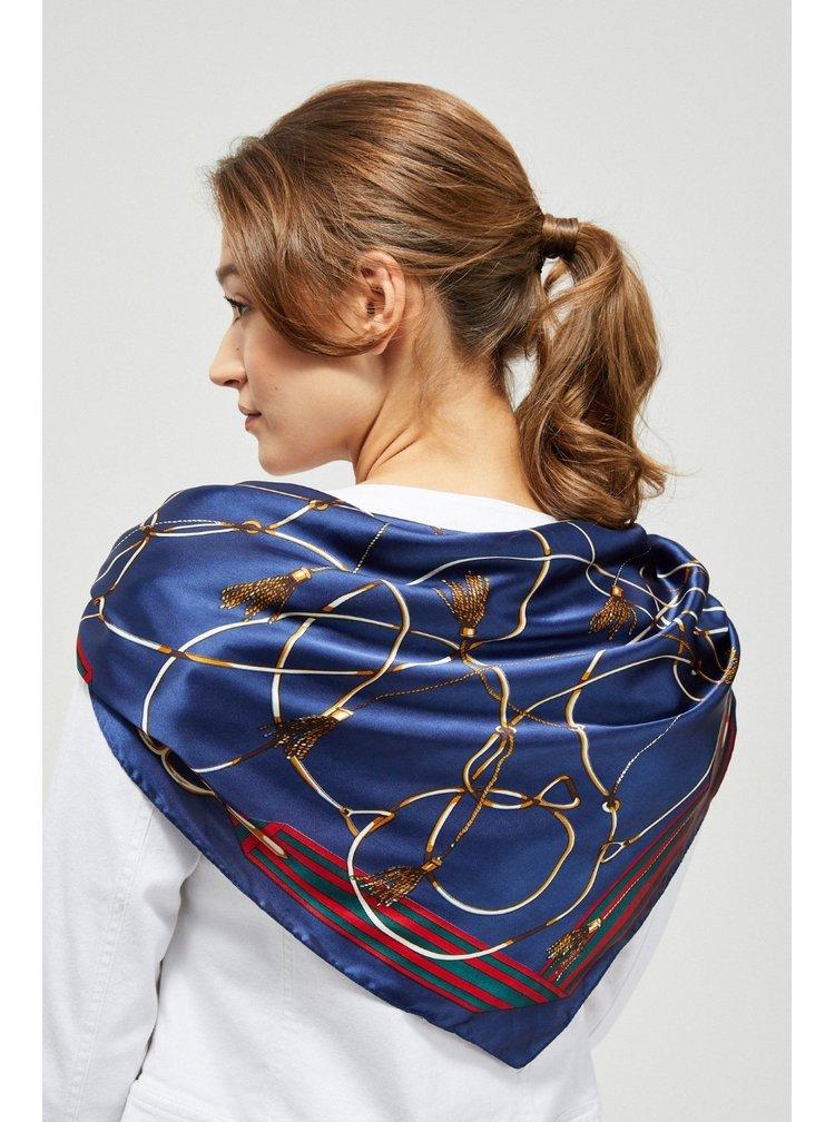 Moodo saténový šátek se vzory