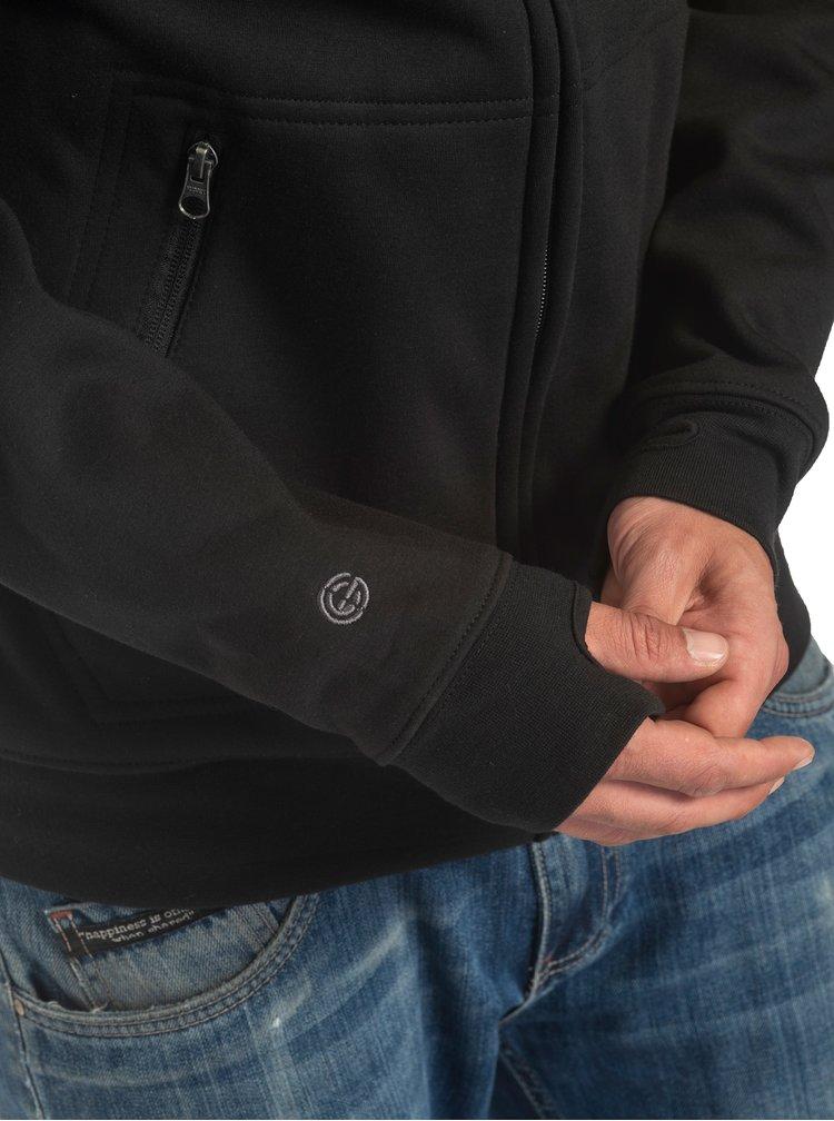 Pulovere cu gluga pentru barbati NUGGET - negru