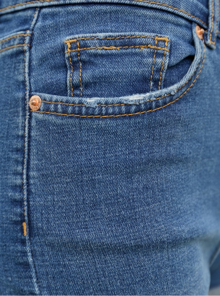 Modré džínové kraťasy TALLY WEiJL