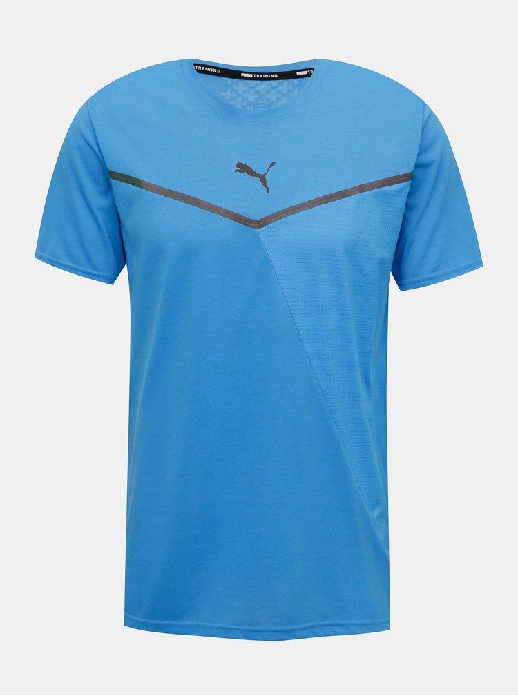 Modré pánské tričko Puma