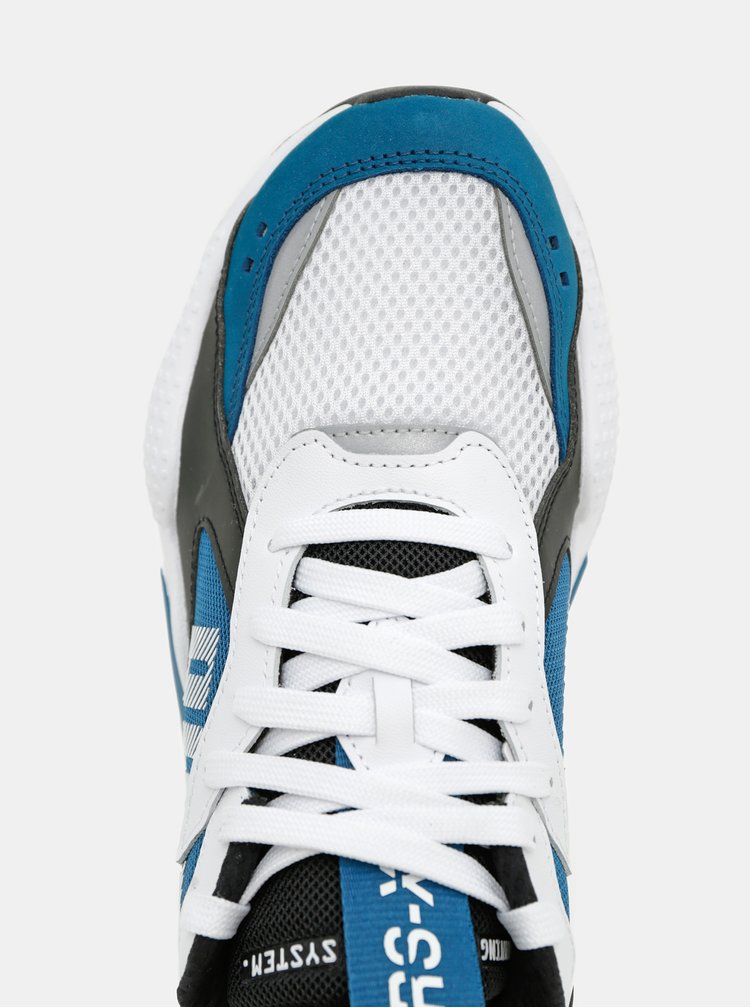 Bílo-modré pánské tenisky Puma