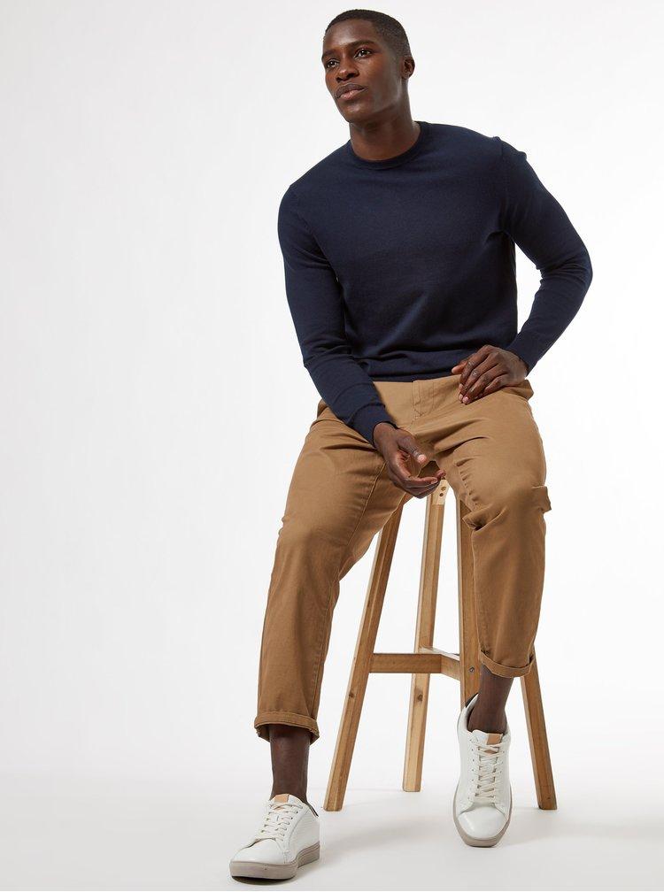 Pulovere pentru barbati Burton Menswear London - albastru inchis
