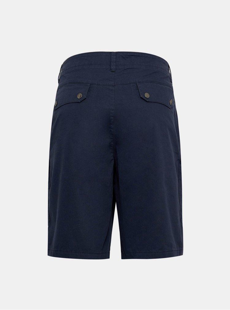 Tmavě modré kraťasy s kapsami Burton Menswear London