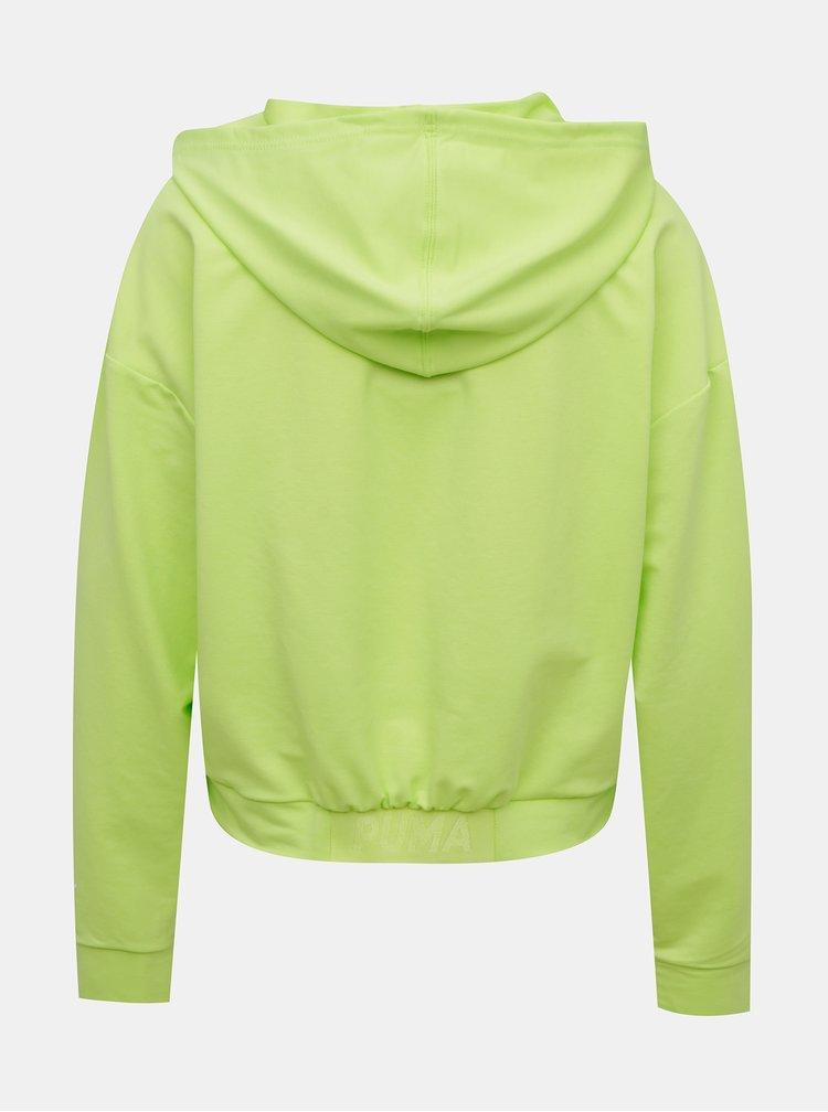 Jachete si tricouri pentru femei Puma - verde