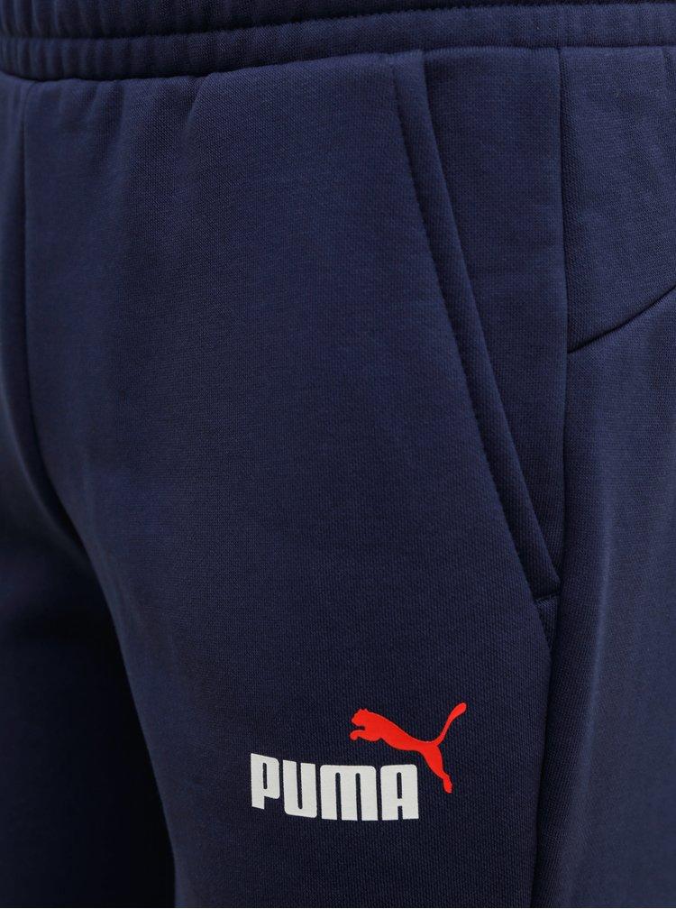 Modré pánské tepláky Puma