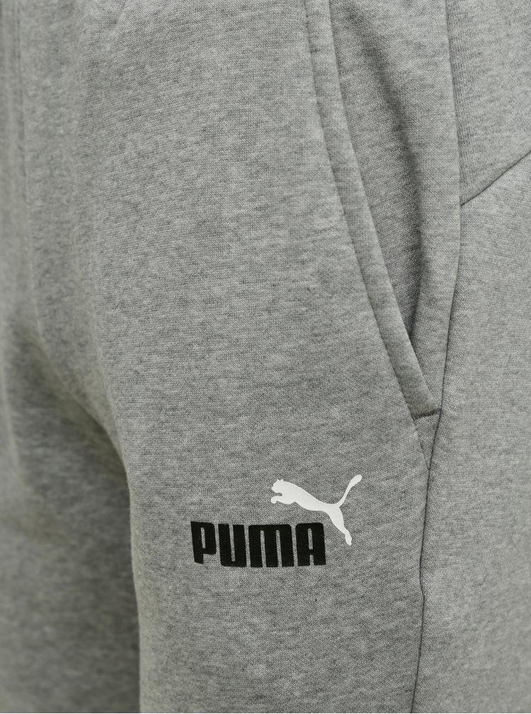 Šedé pánské tepláky Puma