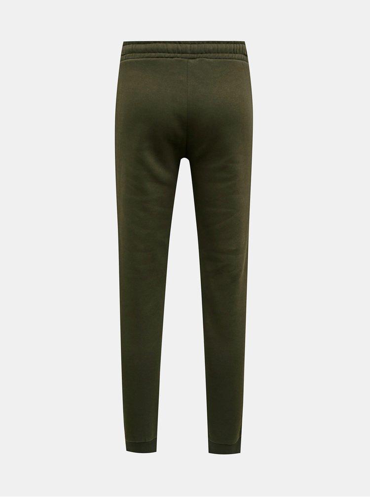 Pantaloni sport si de casa pentru barbati Jack & Jones - kaki