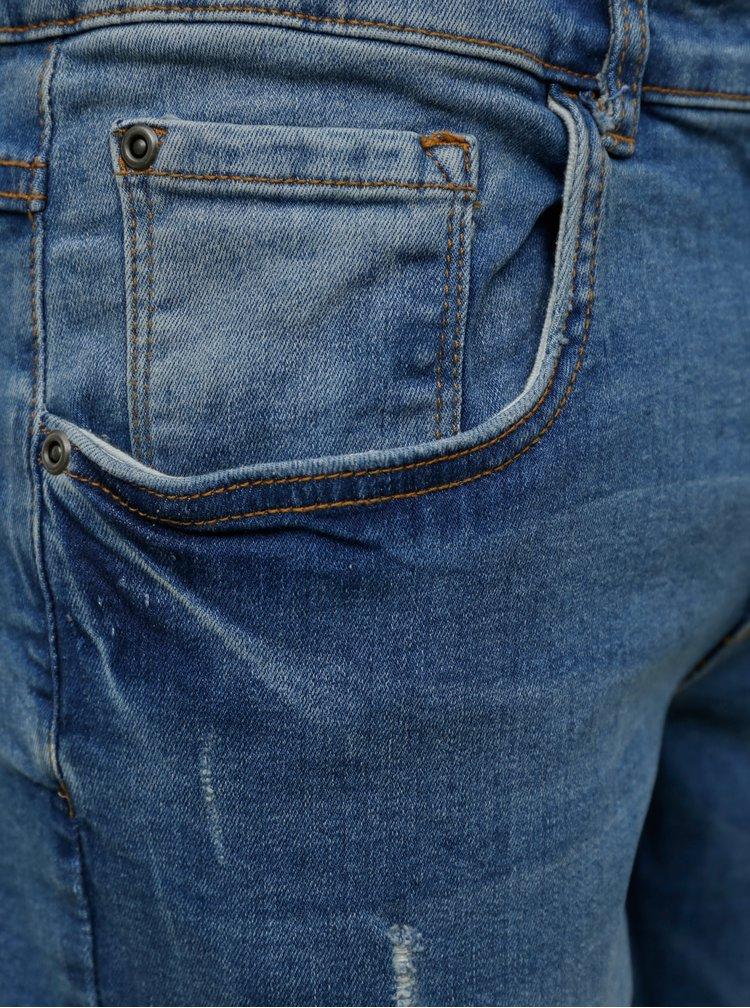 Slim fit pentru barbati Redefined Rebel - albastru