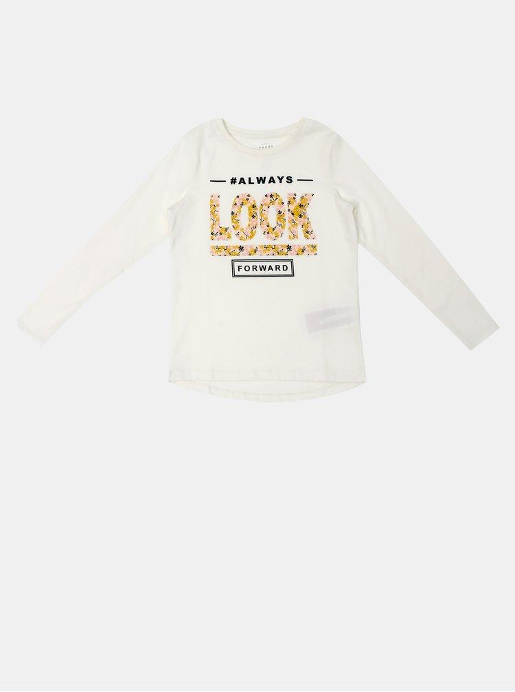 Krémové holčičí tričko name it Veen