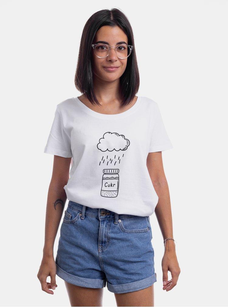 Bílé dámské tričko ZOOT Original Nejsem z cukru!