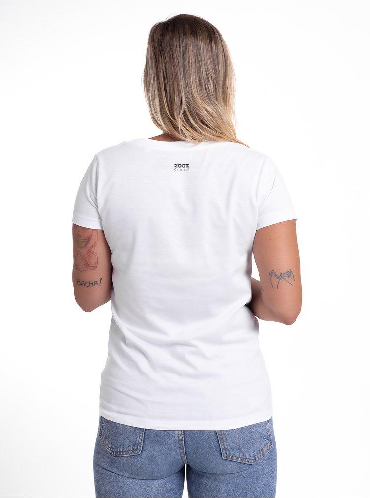 Bílé dámské tričko ZOOT Original Co s tebou