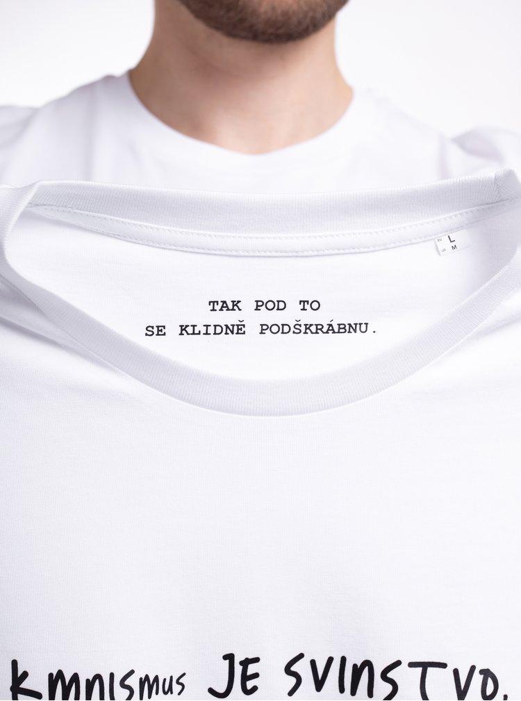Bílé pánské tričko ZOOT Original Kmnismus
