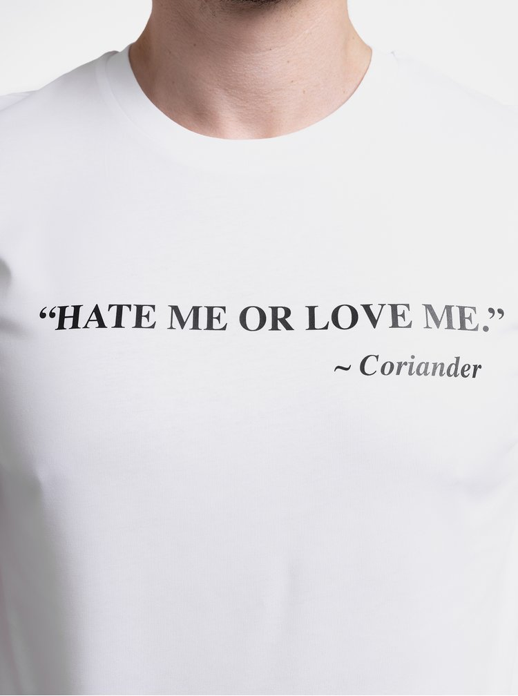 Bílé pánské tričko ZOOT Original Koriandr
