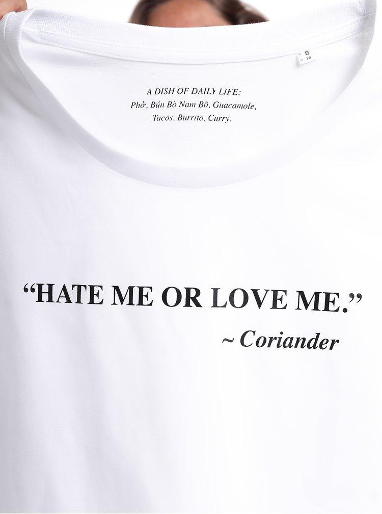 Bílé dámské tričko ZOOT Original Koriandr