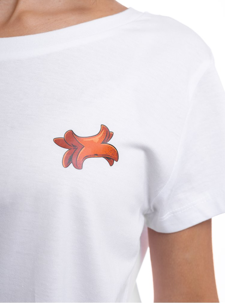 Bílé dámské tričko ZOOT Original Buřtík
