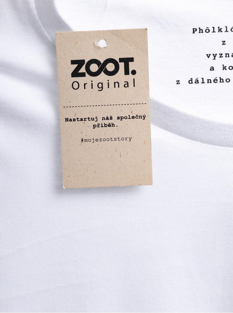 Bílé pánské tričko ZOOT Original Český Phólklór