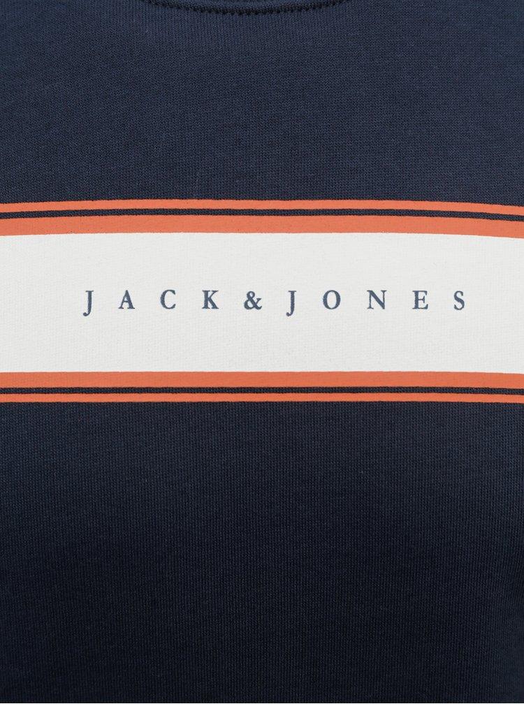 Tmavě modrá mikina Jack & Jones