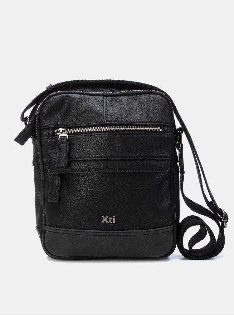 Černá pánská crossbody taška Xti