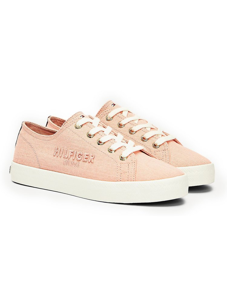 Tommy Hilfiger tenisky Tommy Basic Sneaker Washed Watermelon Pink