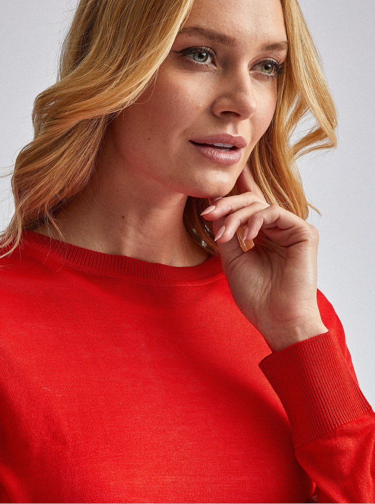 Červený svetr Dorothy Perkins