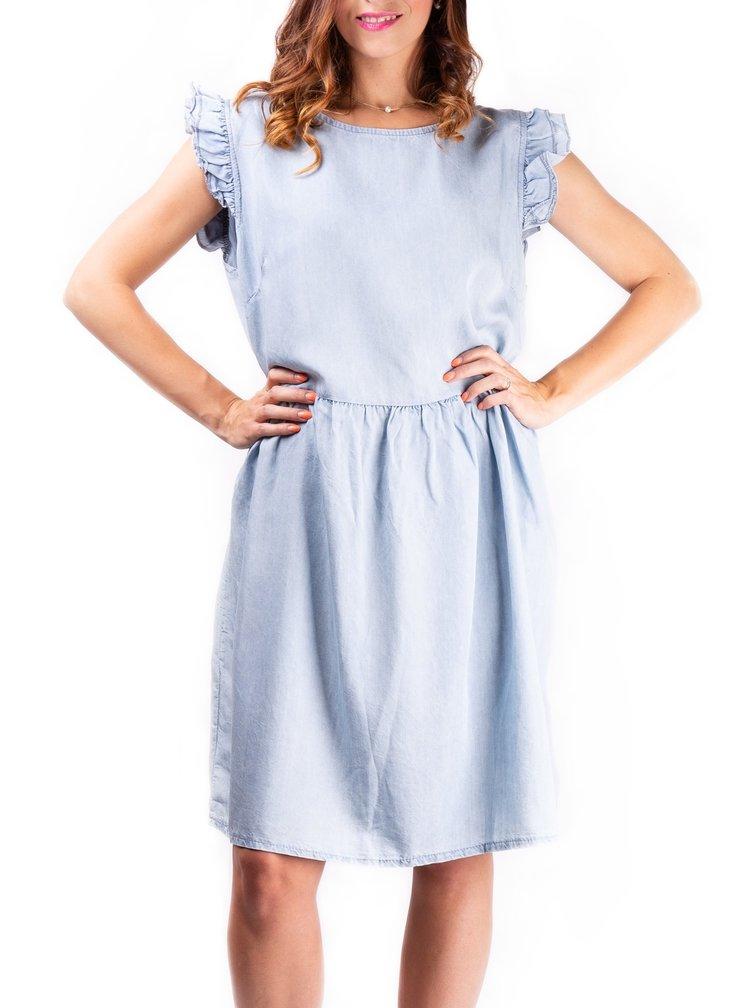 Simpo modré denimové šaty Denim Life
