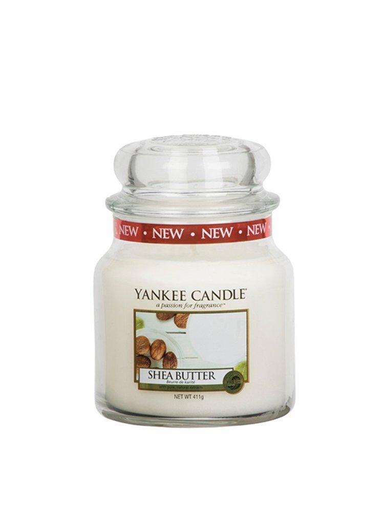 Yankee Candle vonná svíčka Shea Butter Classic střední